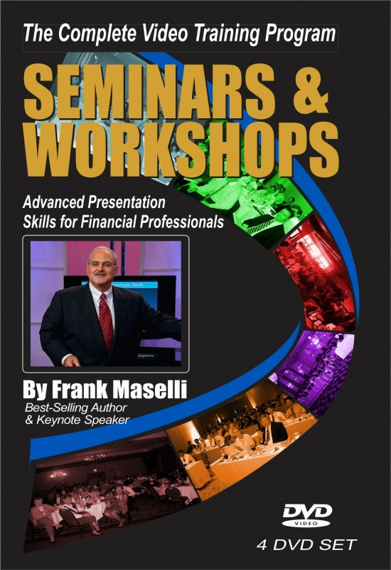 Seminar & Workshops –  4-DVD Training Program