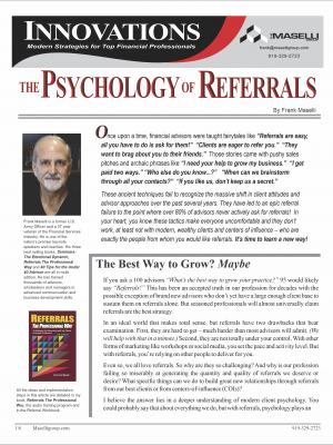 Psych of Referrals